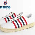 ケースイス K-SWISS スニーカー Classic 88 AGED テニスシューズ トリコロール エイジング加工