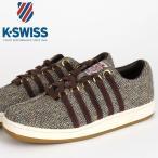 ショッピングイス ケースイス K-SWISS ハリスツイード Classic 88 Harris Tweed クラシック ブラウン