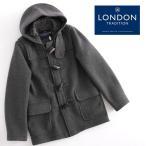 LONDON TRADITION DUFFLE COAT ロンドントラディション ダッフルコート マーティン ウール混 WOOL グレー メンズ