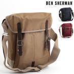 ベンシャーマン Ben Sherman ショルダーバッグ タブレットバッグ ナイロン 39x34x10cm 3色 サンド マルーン ネイビー