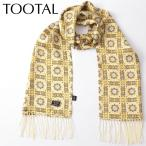 Tootal Vintage トゥータル スカーフ ヴィンテージ 幾何学模様 イエロー
