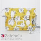 Zatchels サッチェルバッグ 13インチ 英国製 ヨークローズ パステルイエロー