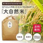 【平成28年度産新米】熊本県【大自然米】完全無農薬・肥料不使用 玄米10kg 送料無料