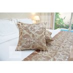 ベッドクッション ホテルクッション 50cm×50cm インポートベッドライナーベッドスロー海外輸入高級ホテルベッドデザイナー海外五つ星ホテル bed-0231