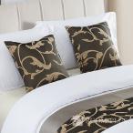 ベッドクッション ホテルクッション 50cm×50cm インポートベッドライナーベッドスロー海外輸入高級ホテルベッドデザイナー海外五つ星ホテル bed-0241