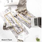 フロアマット 玄関マット キッチン エントランス バスマット 大理石柄 北欧 モダン インテリア 雑貨 fmat-0013