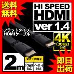 ウルマックスオリジナル HDMIケーブル フラット 2m UL-CAVS001