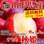 すもも 秋姫 秀品 1.2kg 約6玉〜10玉前後 プラム 山形県産 お取り寄せ