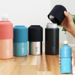 真空保冷ペットボトルホルダー パース ステンレスサーモペットボトルホルダー 500〜600ml用 保温 保冷 ペットボトル ケース