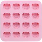 シリコン チョコレート&プチケーキモールド こぶたピンク