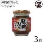 沖縄豚肉みそ うま辛 140g×3個 赤マルソウ 沖縄 土産 調味料 肉味噌 おにぎり サバの味噌煮 野菜スティック  送料無料