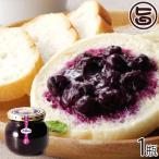「森のサファイア」ブルーベリー無添加 プレミアムジャム 果実のみ 300g×1瓶 完熟 無農薬 砂糖不使用 条件付き送料無料