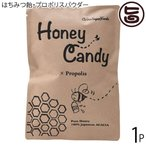 ギフト Honey Candy プロポリス 70g×1P カルナ 福岡 国産アカシア蜜使用 着色料・香料不使用 手作りあめ はちみつ飴 あめ玉 送料無料