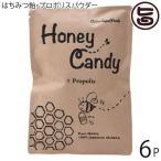 ギフト Honey Candy プロポリス 70g×6P カルナ 福岡 国産アカシア蜜使用 着色料・香料不使用 手作りあめ はちみつ飴 あめ玉 送料無料
