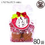 いちごちんすこう 10個入×80袋 珍品堂 沖縄 土産 定番 人気 菓子 国産小麦 イチゴ フリーズドライ入り かわいい  送料無料
