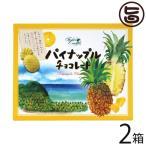 パイナップルチョコレート 12個入 2箱 ファッションキャンディ 沖縄土産 沖縄土産  送料無料