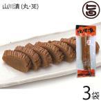 ふじさき漬物舗 山川漬 (丸・3E) 210g×3袋 漬物 壺漬け  条件付き送料無料