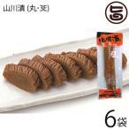 ふじさき漬物舗 山川漬 (丸・3E) 210g×6袋 漬物 壺漬け  条件付き送料無料