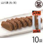 ふじさき漬物舗 山川漬 (丸・3E) 210g×10袋 漬物 壺漬け  条件付き送料無料