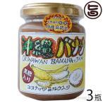 手作りジャム バナナ ココナッツミルク 黒糖入り 140g×3瓶 ぎのざジャム 沖縄 土産 フルーツ 珍しい 林修の今でしょ 講座 黒糖 送料無料