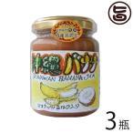 手作りジャム バナナ ココナッツミルク入り 140g×3瓶 ぎのざジャム工房 沖縄 土産 トロピカルジャム クリーミィで爽やかな酸味 送料無料