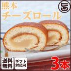 ギフト (大箱)熊本チーズロール 3本 条件付 熊本 九州 名物 土産  条件付き送料無料