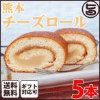 ギフト (大箱)熊本チーズロール 5本 条件付 熊本 九州 名物 土産  条件付き送料無料
