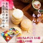 くがにちんすこう ミニ箱 10個入×20箱 送料無料 沖縄 土産 人気 甘い
