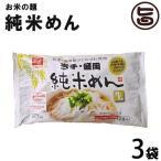 岩手・盛岡 純米めん 2食袋入り 340g×3袋 条件付き送料無料 アレルギーをお持ちの方に
