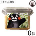 くまモン米味噌 300g×10個 貝島商店 熊本伝承のこだわりの木樽仕込み味噌 調味料 熊本 土産 人気  条件付き送料無料