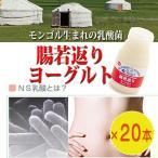 話題のモンゴル乳酸菌「腸若返りヨーグルト」20本 秋田県 人気 NS乳酸 腸内活性化  送料無料