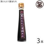 黒にんにく醤油たれ 120ml×3本 沖縄 健康管理 調味料 人気  送料無料