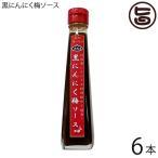 黒にんにく梅ソース 120ml×6本 送料無料 沖縄 健康管理 調味料 人気