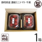 静岡県産 濃縮ミニトマト 千果 ちか 200g×2P×1箱 産直 お取り寄せ ギフト 贈り物  条件付き送料無料