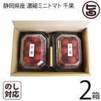 静岡県産 濃縮ミニトマト 千果 ちか 200g×2P×2箱 産直 お取り寄せ ギフト 贈り物  条件付き送料無料