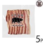 ギフト お歳暮 どろぶた ベーコンスライス 100g×5P ランチョ・エルパソ 北海道 土産 人気 お取り寄せ食材 オリジナルの放牧豚使用 バラ肉 条件付き送料無料