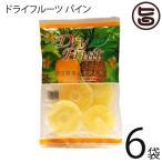 ドライフルーツ パイン 180g×6袋 南風堂 タイ産 ドライフルーツ 果物 健康 おやつ 美容 ブロメライン  送料無料