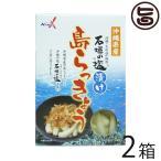 沖縄県産 石垣の塩漬け 島らっきょう 60g×2箱 南都物産 炒め物料理やお酒のおつまみに 人気 お土産  送料無料
