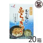 沖縄県産 石垣の塩漬け 島らっきょう 60g×20箱 南都物産 炒め物料理やお酒のおつまみに 人気 お土産 送料無料