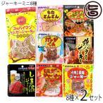 オキハムジャーキーミニ10種セレクト×2セット 沖縄 人気 定番 おつまみ 珍味  送料無料