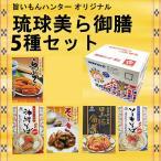 お歳暮 旨いもんハンター オリジナル 琉球美ら御膳 5種セット 送料無料 沖縄 人気 定番 土産 料理