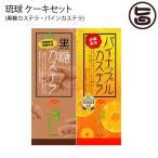 琉球 ケーキセット 沖縄農園 黒糖カステラ パイナップルカステラ 贈答品 ギフト  送料無料
