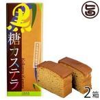 黒糖カステラ 300g×2箱 沖縄農園 沖縄 土産 菓子 多良間島産黒糖と国産小麦使用 送料無料