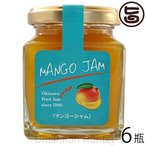 トロピカルジャム マンゴ 140g×6瓶 沖縄農園 沖縄 土産 ミックスジャム 濃厚で豊かな甘みと香り 甘さ控えめ パン ヨーグルト お菓子作り 送料無料