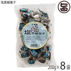 塩黒糖菓子 200g×8袋 沖縄 人気 定番 土産 お菓子  送料無料