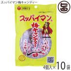 スッパイマン 梅キャンディー 5個入×10袋 沖縄では定番の乾燥梅干 梅の風味に絶妙な甘さ 熱中症対策や沖縄土産にも  送料無料