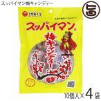 スッパイマン 梅キャンディー 12個入×4袋 乾燥梅干 沖縄 人気 定番 沖縄土産 土産 お菓子 おやつ 送料無料