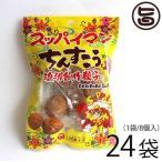 スッパイマンちんすこう 8個入×24袋 上間菓子店 個包装 一口サイズ 沖縄土産  条件付き送料無料