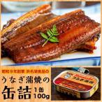 うなぎ ウナギ 鰻 昭和9年創業 浜名湖食品の「うなぎ蒲焼缶詰」 1個 100g 缶詰 カンヅメ 常温