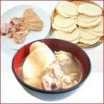 八戸せんべい汁セット ( 青森地鶏シャモロック 正肉とツミレ 鍋用お汁せんべい8枚 )